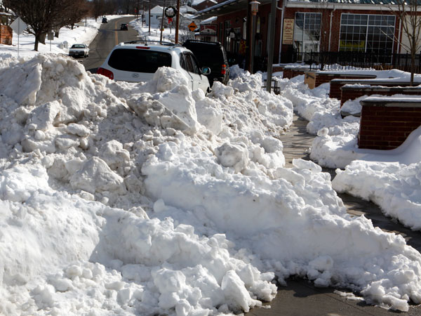 Floyd violated its own snow removal ordinance