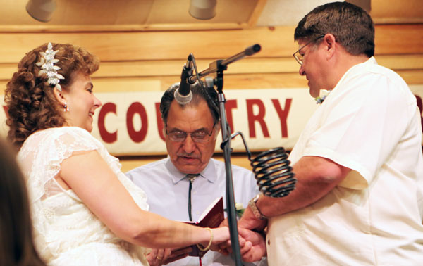 A marriage made in bluegrass heaven